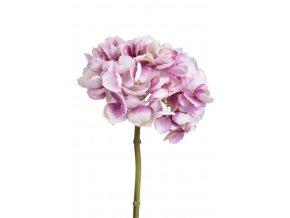 Umělá květina hortenzie