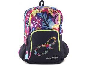 Studentský batoh | s barevnými květy | Ocean Pacific