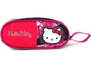 Školní penál | elipsovitý | Hello Kitty