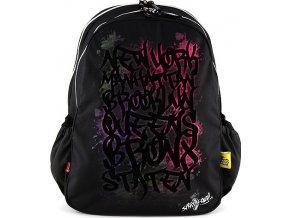 Studentský batoh | sametová písmena | 44x34x13cm