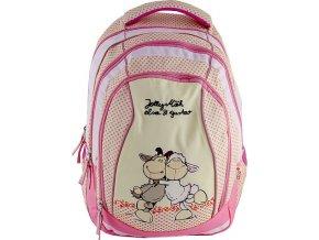 Školní batoh | 2v1 | Nici | dvě ovečky | 41x32x18cm
