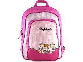 Školní batoh | Nici | růžový | tři ovečky | 44x33x16cm