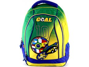 Batoh | Goal | zeleno-žlutý