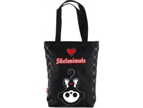 Nákupní taška | Skelanimals | černá