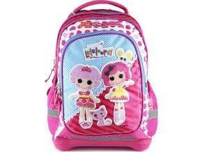 Školní batoh| Lalaloopsy |  motiv panenek | růžový