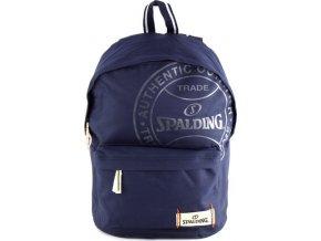 Batoh Spalding tmavě modrý, rozměry 43x30x18cm