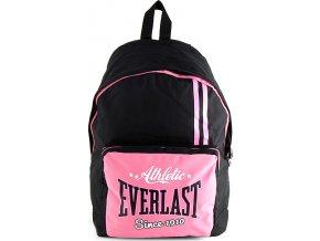 Batoh Everlast |  růžovo/černý | 43x30x18cm