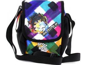 Taška přes rameno | Betty Boop | černá s barevným motivem