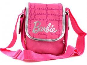 Kabelka přes rameno | Barbie | růžovo/stříbrná