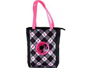 Nákupní taška |  Barbie | černá s bílo/růžovým
