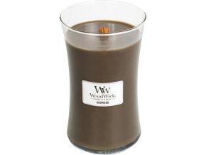 Svíčka | oválná váza | WoodWick | Pryskyřice | 610g