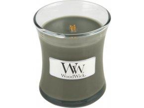Svíčka | oválná váza | WoodWick | Večer u táboráku | 85g