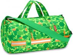 Sportovní taška Reisenthel Zelený les | mini maxi dufflebag S kids