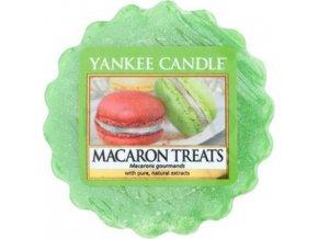 Vonný vosk Yankee Candle Makronky, 22 g