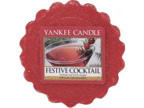 Vonný vosk Yankee Candle Sváteční koktejl, 22 g