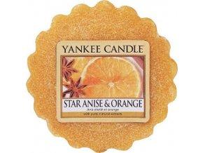Vonný vosk Yankee Candle Anýz a pomeranč, 22 g