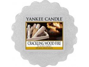 Vonný vosk Yankee Candle Praskající oheň, 22 g