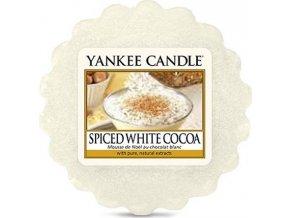 Vonný vosk Yankee Candle Bílé kakao s kořením, 22 g