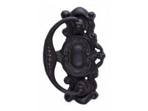 Litinové klepadlo s ornamenty