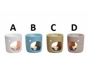 Aromalampa | Keramika | 4 Druhy | 9x9cm