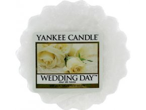 Vonný vosk | Yankee Candle | Svatební den | 22g