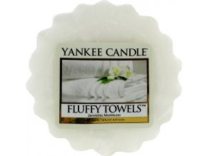 Vonný vosk | Yankee Candle | Načechrané ručníky | 22g