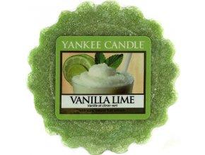 Vonný vosk | Yankee Candle | Vanilka s limetkami | 22g