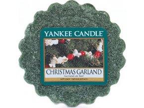 Vonný vosk | Yankee Candle | Vánoční věnec | 22g