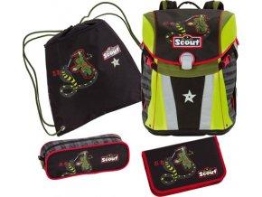 Školní set Scout Scout Sunny Set 4tlg. Ninja S