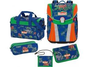 Školní set Scout Scout Sunny Set 5tlg. Dino