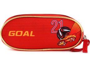Školní penál Target Goal, barva červená