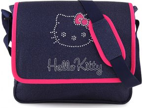 Taška přes rameno | Hello Kitty | tmavě modrý jeans