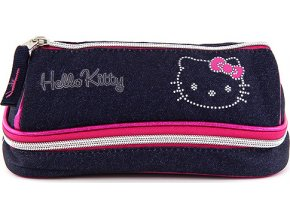 Školní penál | dvoukomorový | Hello Kitty