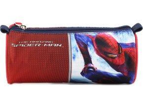 Školní penál Target Spiderman, barva červená