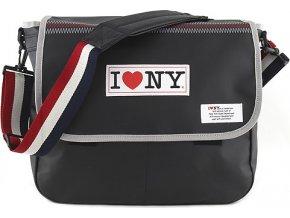 Taška přes rameno Target I love NY, barva černá