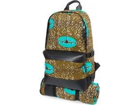 Cestovní batoh | s piknik dekou | motiv letadel