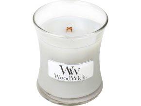 Svíčka | oválná váza | WoodWick | Pěnové bonbóny na ohni | 85g