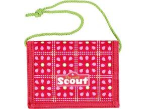 Peněženka | s poutkem | Scout | třešně