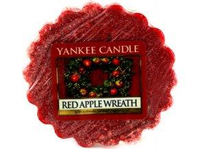 Vonný vosk | Yankee Candle | Věnec z červených jablíček | 22 g