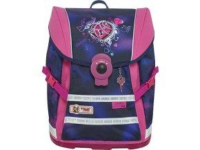 Školní batoh | Mc Neill | Srdce se zámečkem | ERGO Light MOVE