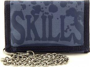 Peněženka | 7Skills | Modrá s řetízkem