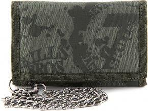 Peněženka 7Skills Zelená, s řetězem