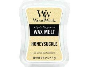 Vonný vosk WoodWick Zimolez a jasmín, 6 x 22.7 g
