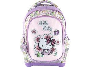 Školní batoh Target Hello Kitty, bílo-fialový