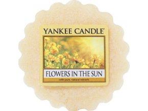Vonný vosk | Yankee Candle | Květiny na slunci | 22 g