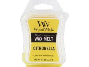 Vonný vosk | WoodWick | Citronela | 6 x 22.7 g