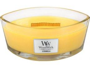 Svíčka dekorativní váza WoodWick Citronela, 453.6 g
