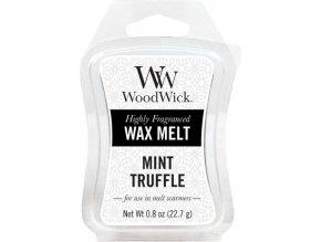 Vonný vosk | WoodWick | Máta a lanýž | 6 x 22.7 g