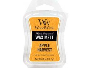 Vonný vosk WoodWick Sklizeň jablek, 6 x 22.7 g