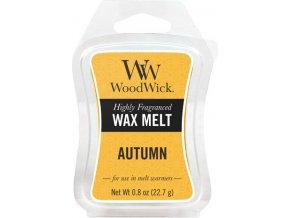 Vonný vosk WoodWick Podzim, 6 x 22.7 g